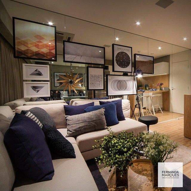 Azul, cinza e fendi Blue, grey and fendi #dicasfernandamarques #saladeestar #livingroom #decor #decoracao #decoraçãoétododia #decoracaodeinteriores #interiors #interiordesign #fernandamarques #fernandamarquesarquiteta