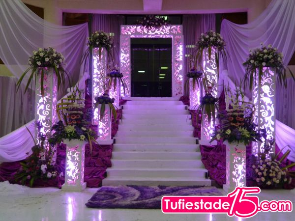 1000 images about decoracion on pinterest centerpieces for Adornos para quinceanera