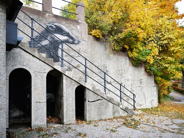 ROA at Subtopia.   The Scarlett Gallery, Stockholm.