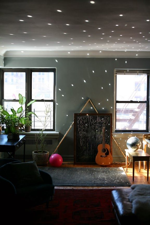 A Cup Of Jo Home Tip Disco Ball Great Idea To Add Ambient Light To A Room Love Creating