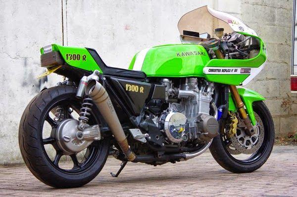 Kawasaki Z1300 R - totally retro