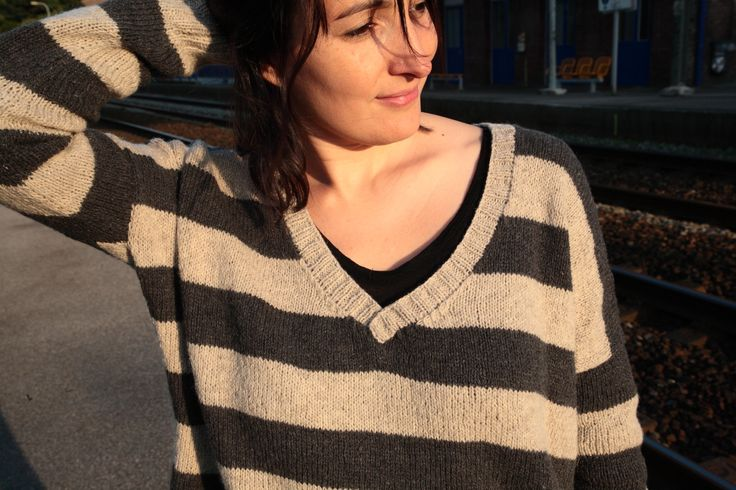 Benton sweater - Julie Hoover for Brooklyn Tweed Shetland Fine, L'échappée Laine