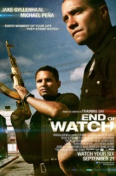 End Of Watch Movie. Intense. Violent, but balanced out by the relationship between the two leads. Good, underrated film.