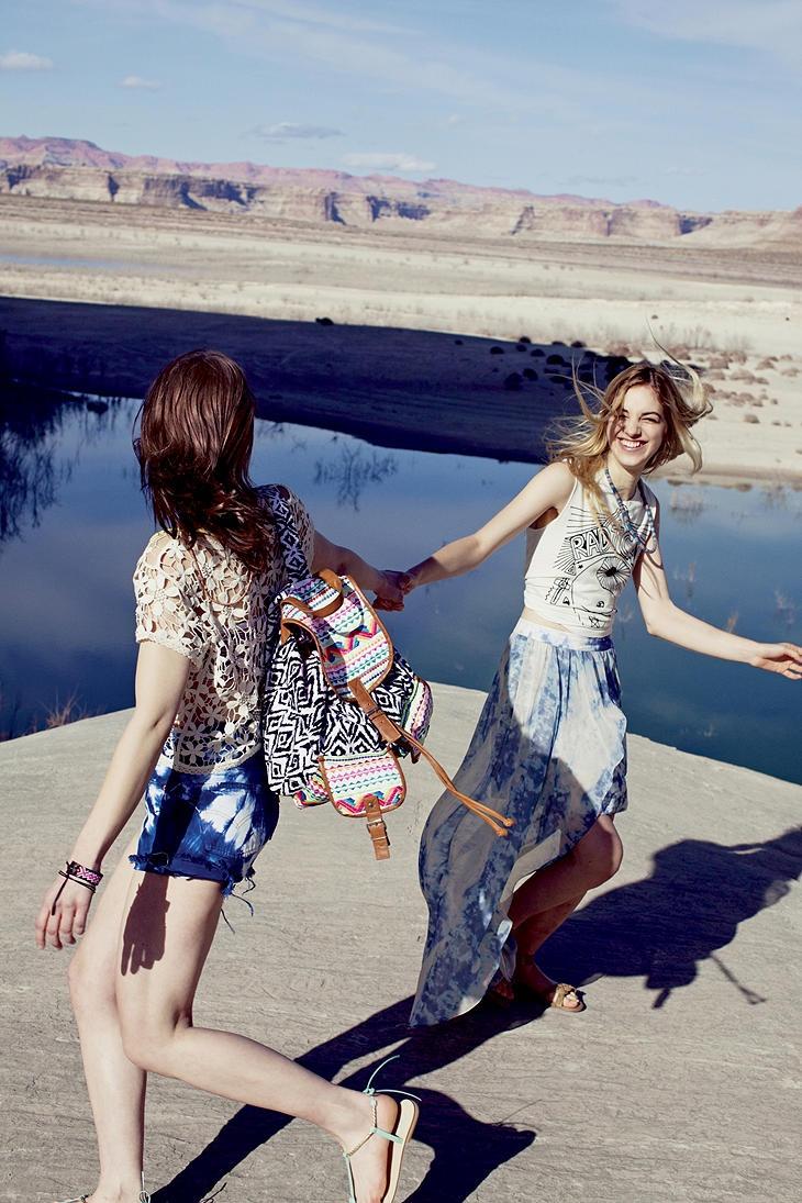 UrbanOutfitters.com > Kimchi Blue Tidal Skirt