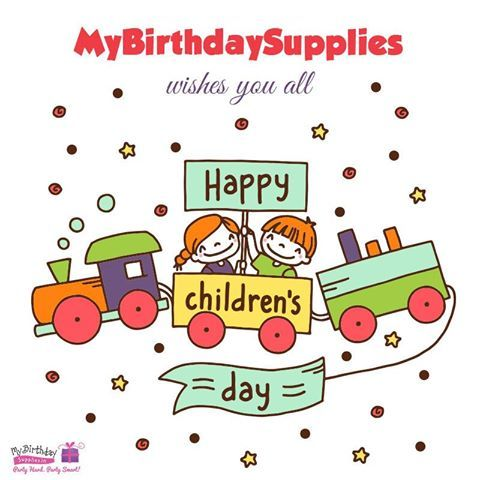 Nothing in this world is  As innocent as a child, As raw as a child, As simple as a child. The more you embrace them the more they shine! Enjoy the spirit of Children's Day! #HappyChildrensDay #ChildrensDay #MyBirthdaySupplies
