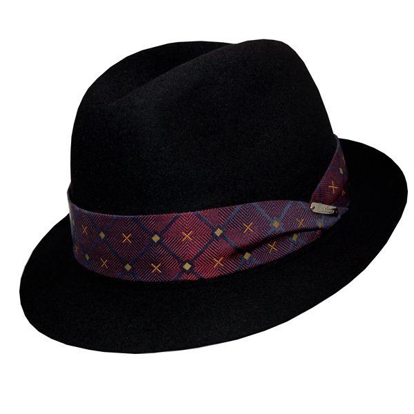 Borsalino Marengo Fedora | DelMonico Hatter $282.50 #fedora #borsalino #hat #menswear