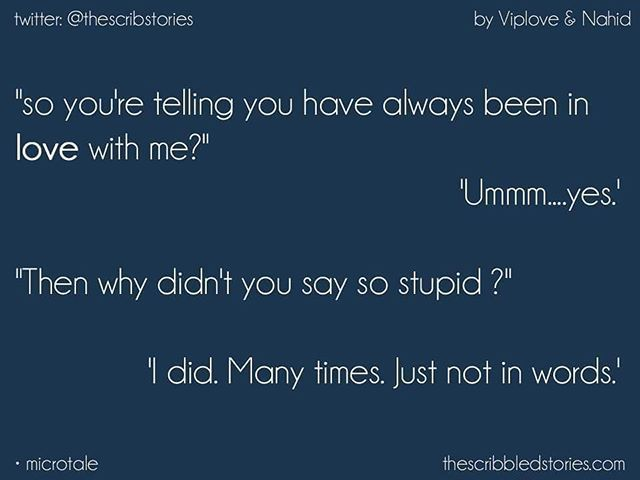 MicroTale by @viploveseth & Nahid Arzoo | Twitter: @Thescribstories