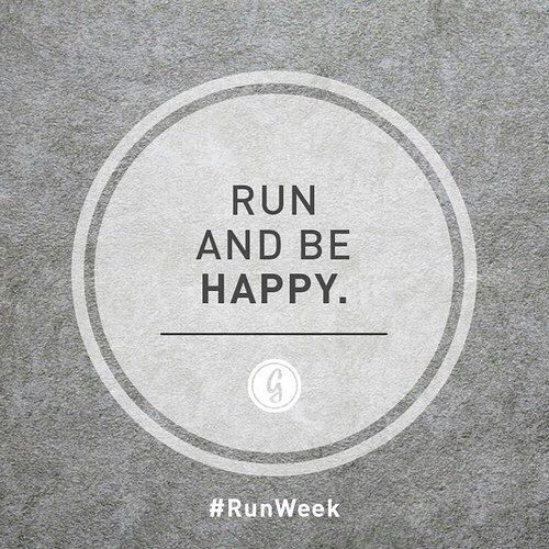 run and be happy                                                                                                                                                                                 More