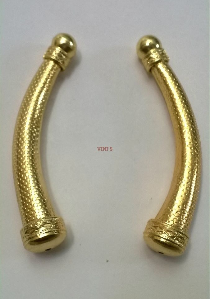 TB15 Gold Plated Rs 190 Length 80mm, Thickness 8 to 14mm