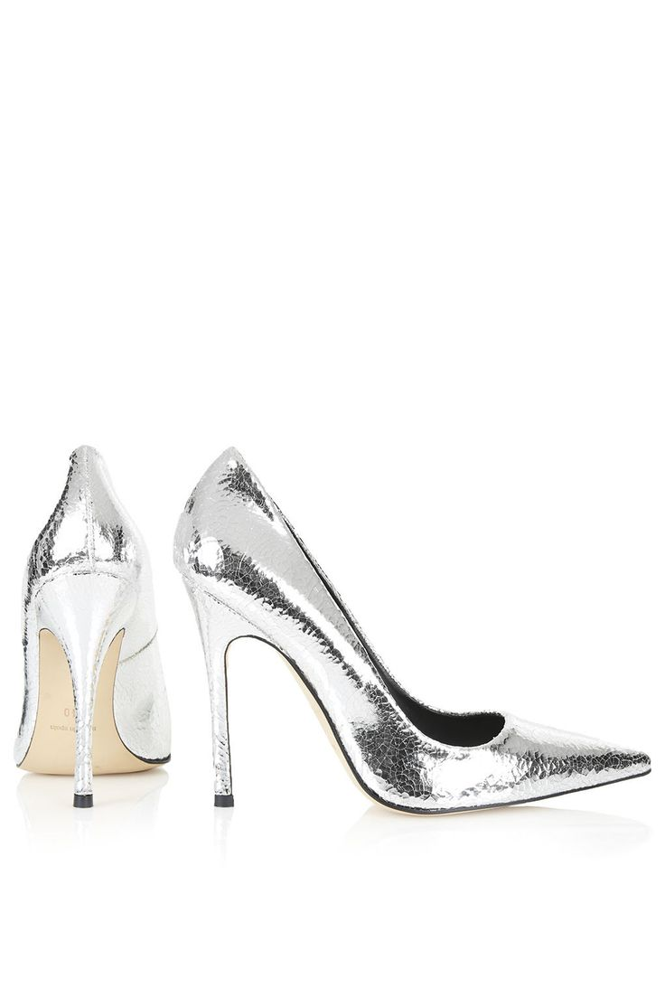 Photo 4 of GALLOP Metallic Court Shoes