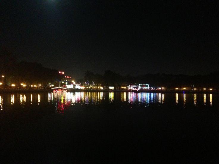Houhai, Beijing, China - by night  后海,  北京,中国