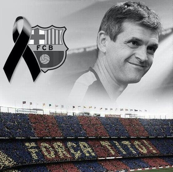 RIP Tito Vilanova :(  Best wishes to the family :)