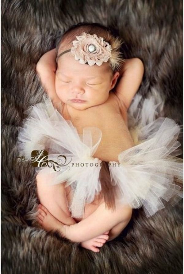 Newborn Picture Ideas For Girl