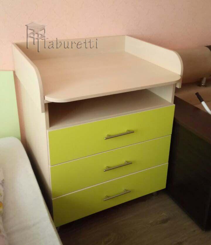 Пеленальный комод со съемной крышкой   http://taburetti.kiev.ua/komody-i-tualetnye-stoliki/pelenalnyj-komod-so-semnoj-kryshkoj/   #тумба #комод #мебель