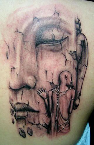 Unbelievable Buddhist Tattoo