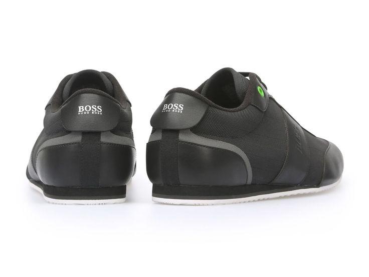 · Zapatos Hugo Boss negros · Zapatos Hugo Boss en piel y poliéster · Zapatos Hugo Boss con cordones al t...