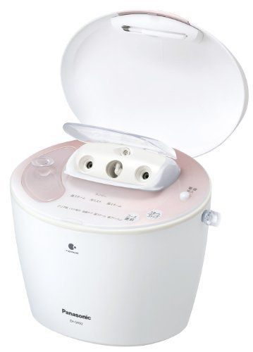 Panasonic NanoCare EH-SA92-PN Pink Ion Steamer (Japanese Import) by Panasonic. $390.00. Panasonic Ion NanoCare steamer;. Easy to carry and drain, removable power cord;. (Detachable) 1.5m power cord;. Spa quality Hot and Cold fine mist functions;. Programmed course options.. anasonic's Nano-Care Ion Steamer is a skincare solution utilizing nano-particle ion steam. It creates ion steam particles that are extremely small, thereby enabling the moisturizing steam to deeply penetrat...