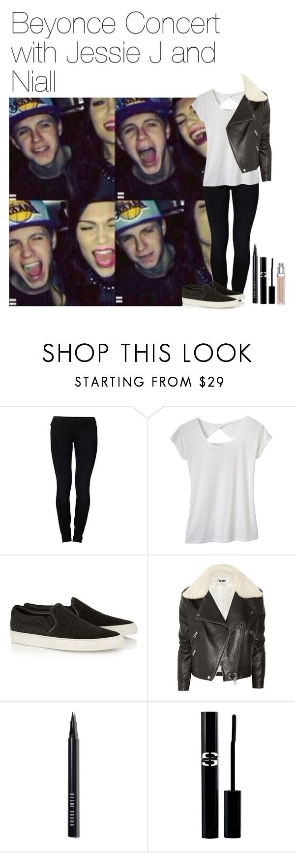 """Beyonce Concert with Jessie J and Niall"" by liamismybabe ❤ liked on Polyvore featuring True Religion, prAna, Common Projects, Acne Studios, Bobbi Brown Cosmetics, Sisley Paris, Christian Dior, NiallHoran and JessieJ"
