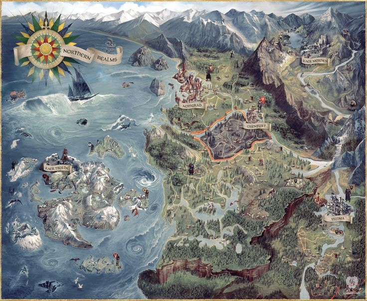 Best 25 world map game ideas on pinterest rpg world create the witcher 3 world map gumiabroncs Choice Image