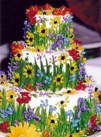 wildflower cake :)