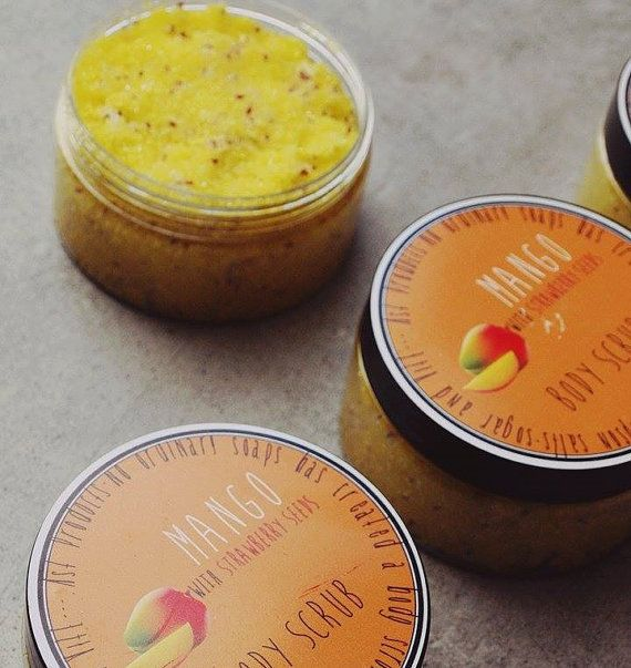 Organic Body Scrub. Handmade Soap.Lemongrass Body by ASTPRODUCTS