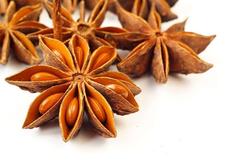 Star anise is a powerful culinary and medicinal spice that has been used for thousands of years and is rich in vitamin C, calcium and iron. It contains potent anti-viral, anti-bacterial, and anti-fungal properties and is particularly good for treating the flu. In fact, star anise contains a compound called shikimic acid which is used to make the common anti-viral drug Tamiflu.