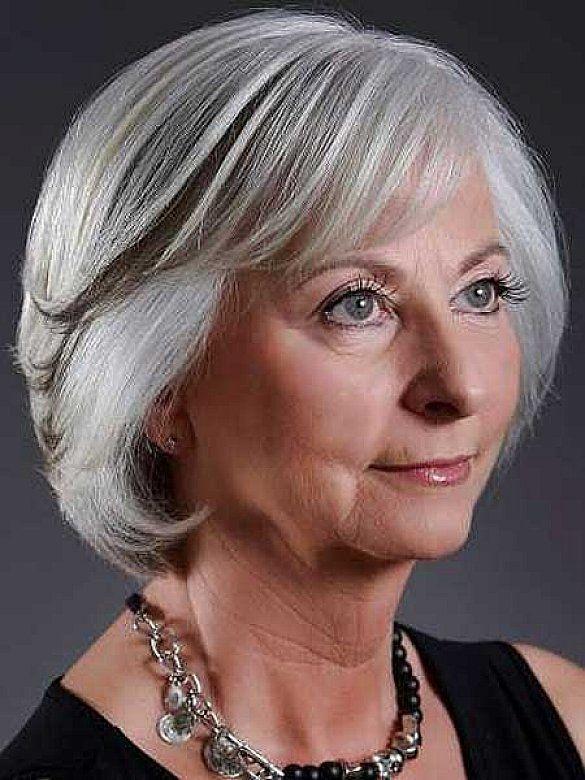 Bob Long Short Pixie Hair Styles For Grey Older Women