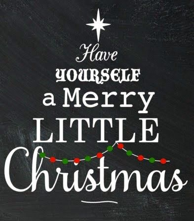 Silhouette School: Have Yourself a Merry Little Christmas! (Free Printable & Silhouette Studio Cut File)