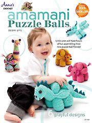 Crochet - Amamani Puzzle Balls - #871428