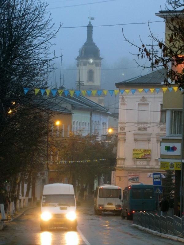 Buchach, Halytska street, Ukraine