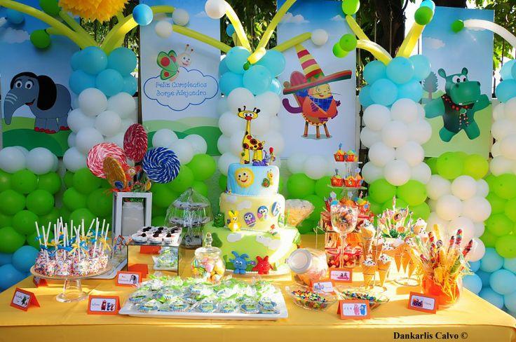 Mesa dulces baby tv