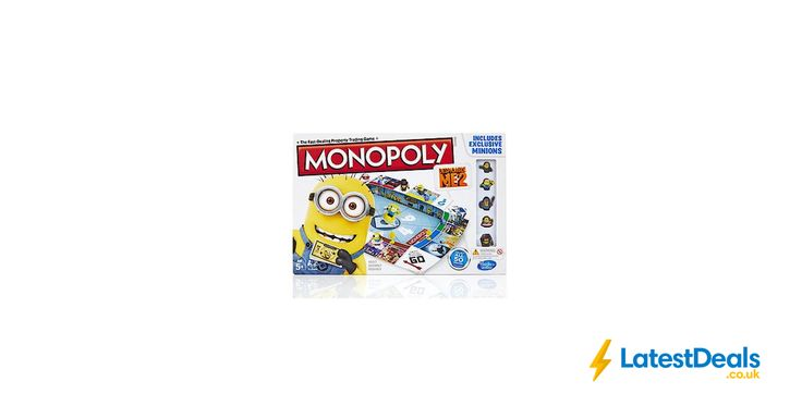 Despicable Me 2 Monopoly Board Game *HALF PRICE* Free C&C, £12.50 at The Entertainer
