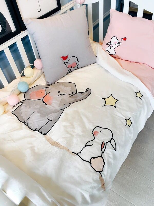 Bunnies and Elephants, together, admiring the stars :) #hearthappy