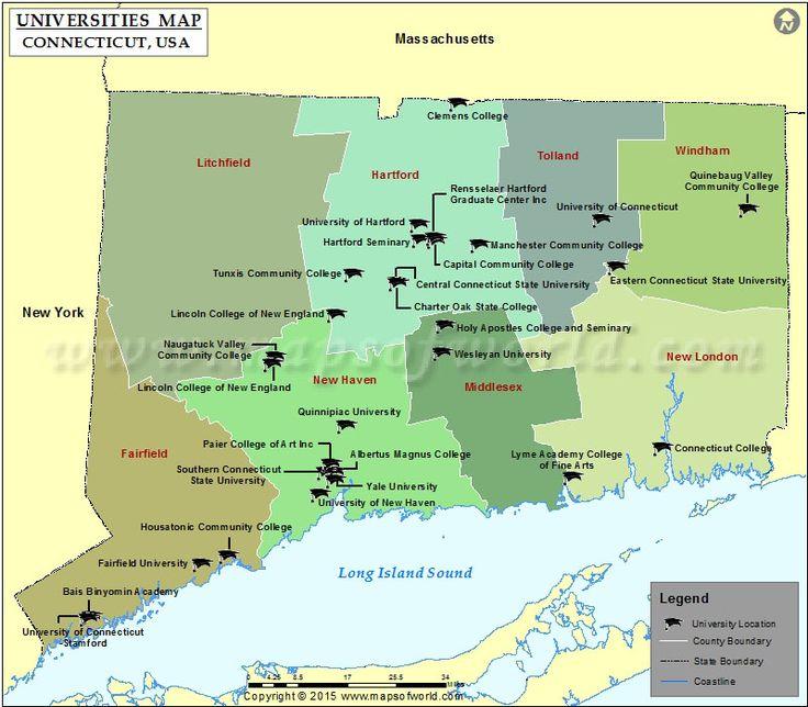 List of Universities in Connecticut