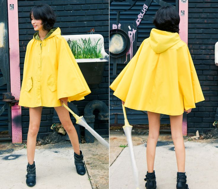 Hooded Rain Cape | 2225384_misspouty_blog_yellow_rain_cape_hooded_coat_poncho_gingham ...