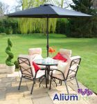 hadleigh 4 seater garden dining set gallery