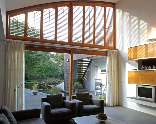 living room shutters. Special shaped window  JASNO shutters 45 best Shutters Living room images on Pinterest