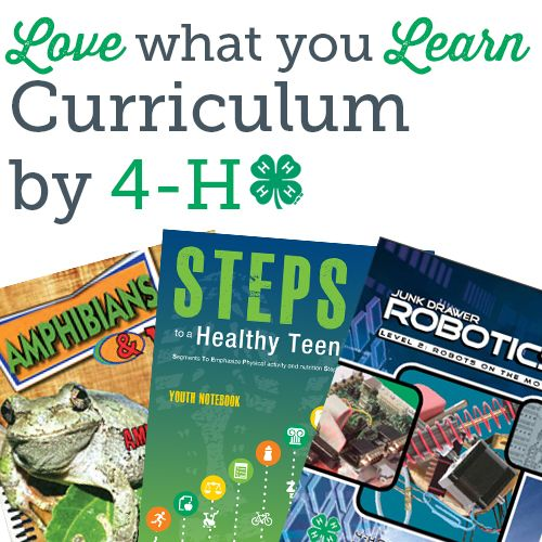 Love what you learn.  Tons of educational activities from 4-H!