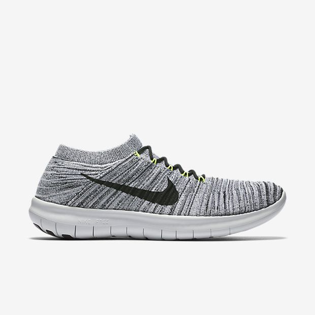 Nike's most natural ride to date, the Nike Free RN Motion Flyknit Men's  Running Shoe features a supportive, conforming Flyknit upper and a  revolutionary new ...