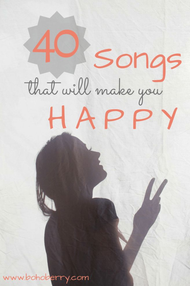 40 Happy Songs Guaranteed to Brighten Your Day! @ bohoberry.com