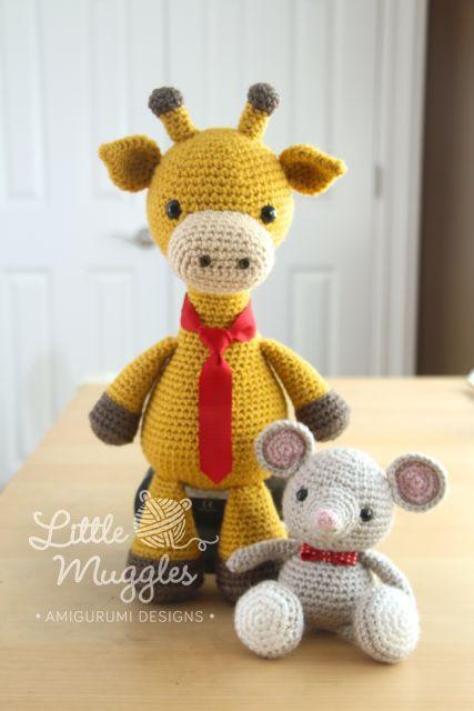 Amigurumi Pattern Little Cows : 1000+ images about Amigurumi - Little Muggles on Pinterest ...