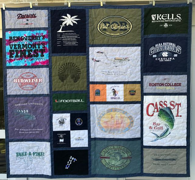 alidiza: To a Tee - T-Shirt quilt.