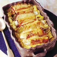 witlof met ham en kaas en mosterdpuree