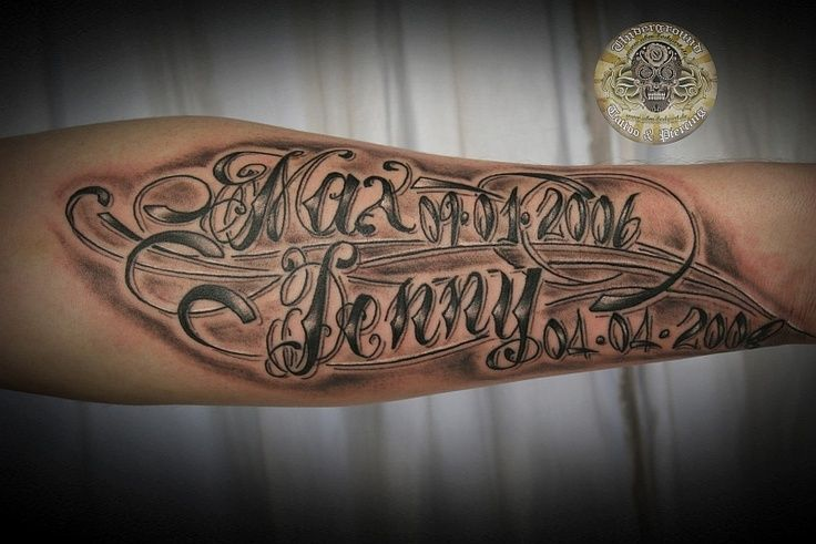 Chicano script tattoo font 2975 abstract fonts kenninaposs for Tattoo forearm writing