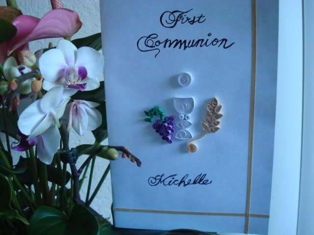 Filigrana para primera comunion manualidades buscar con - Manualidades para primera comunion ...