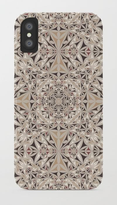 SOLD in my Society6 shop: Cappuccino Pattern iPhone / Samsung Galaxy Case  by David Zydd  #iphonecase #phonecase #giftideas #xmasgifts #iphonex