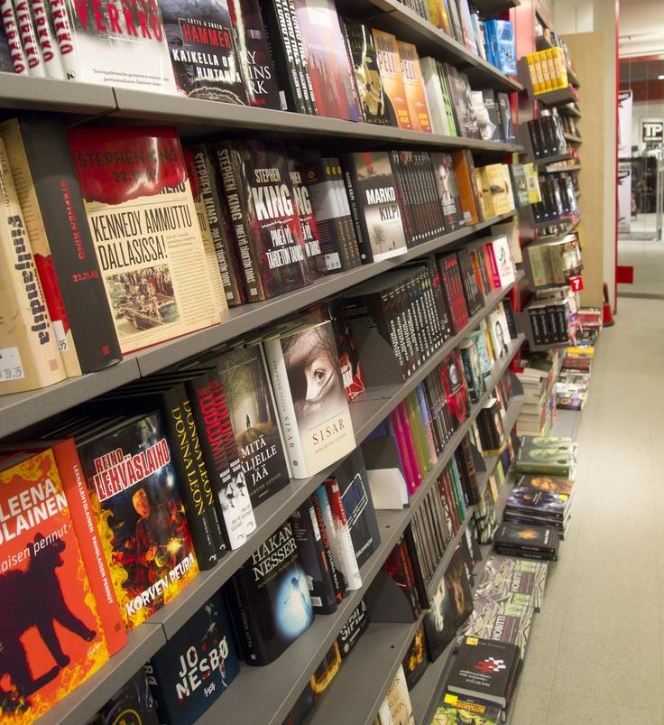 Suomalaisesta Kirjakaupasta lukunautintoja jokaiseen makuun #Suomalainen #Kirjakauppa #Trio #Lahti #kirjat #lukeminen
