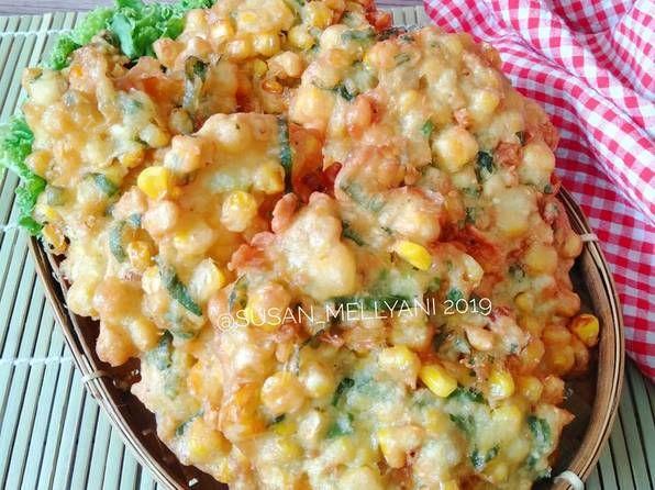 Resep Bakwan Jagung Renyah Oleh Susan Mellyani Resep Resep Resep Makanan Resep Ayam
