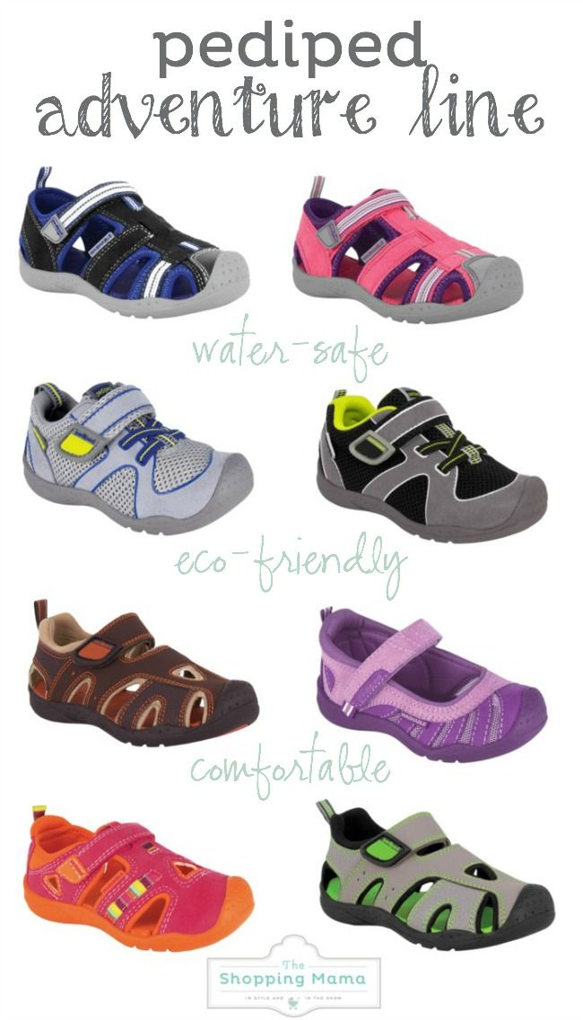 Mini Style: pediped Shoes for Summer | The Shopping Mama
