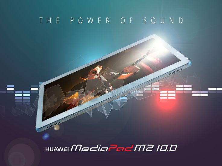 Grazie alla tecnologia #ClariFi di Harman/Kardon®, che riproduce musica e suoni con nitidezza e fedeltà senza eguali, #HuaweiMediaPadM2 10.0 garantisce un ambiente sonoro incredibilmente realistico.